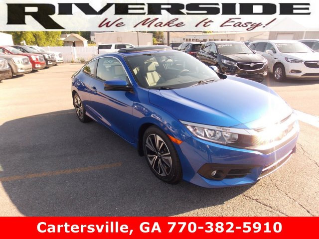 Certified Pre-Owned 2017 Honda Civic Coupe EX-T
