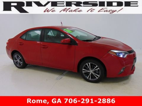 Certified Pre-Owned 2016 Toyota Corolla LE Plus FWD 4dr Car