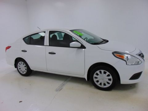 Certified Pre-Owned 2017 Certified Nissan Versa Sedan S FWD 4dr Car