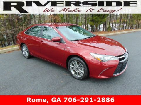 Certified Pre-Owned 2016 Toyota Camry Hybrid SE
