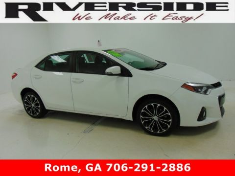 Certified Pre-Owned 2016 Toyota Corolla S FWD 4dr Car