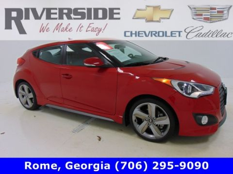 Certified Pre-Owned 2015 Hyundai Veloster Turbo FWD 3dr Car